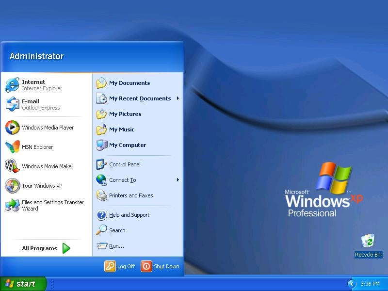 Windows xp img