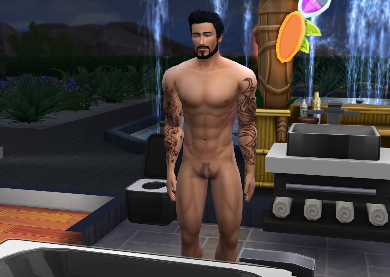 Nude male sims sexy movie