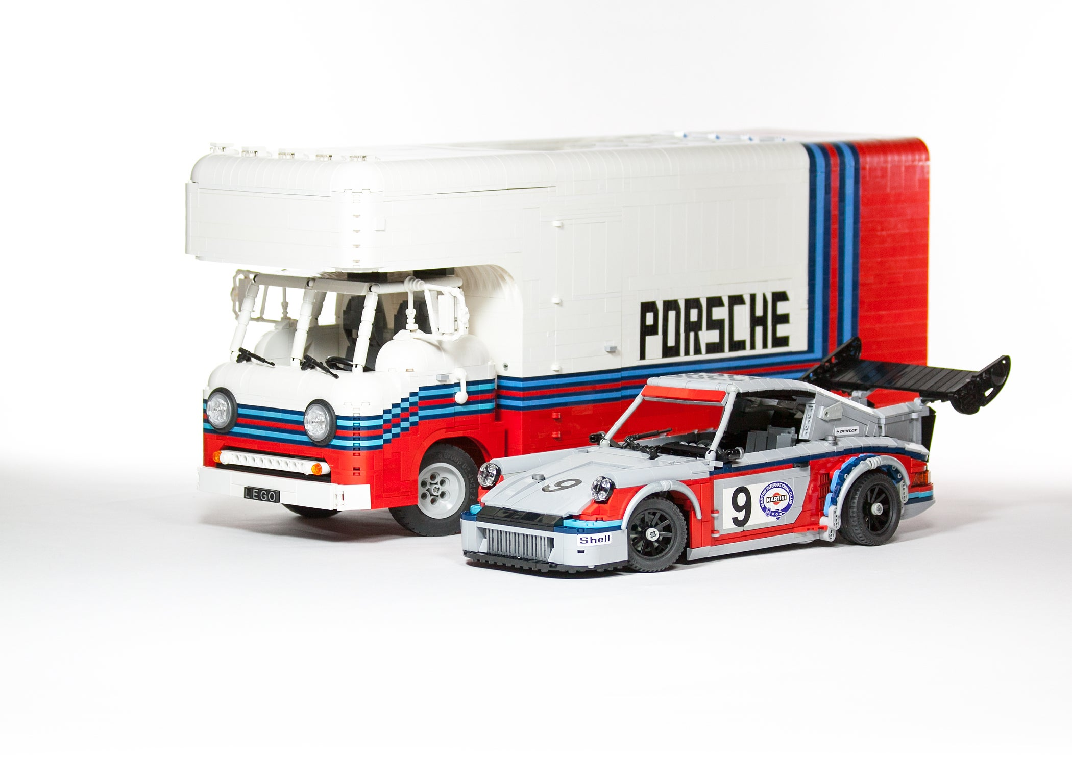Lego Porsche Martini Racing Team