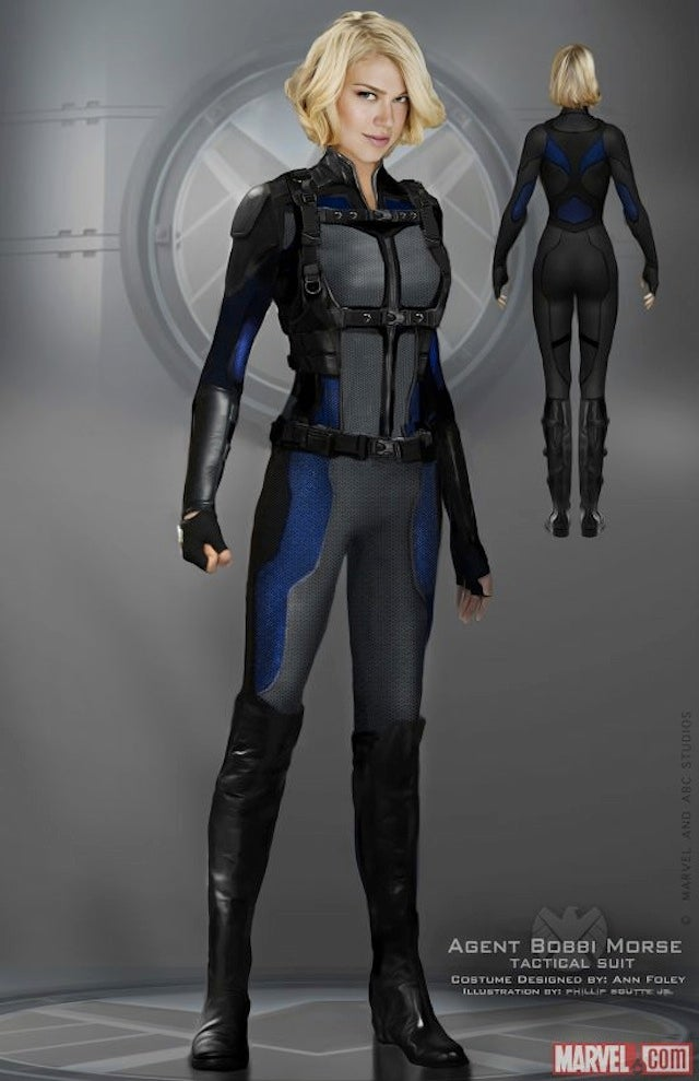 Shield Agents Uniform on Agents of Shield is so