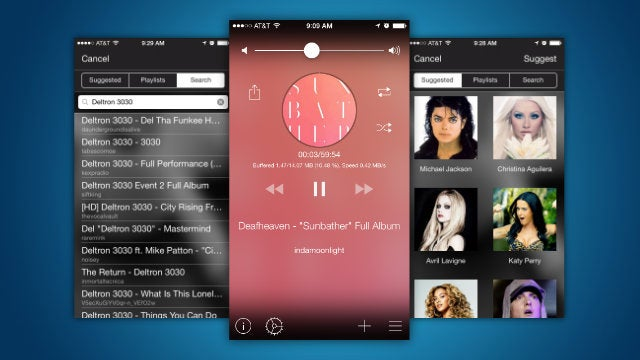 Tuner Turns YouTube Into a Music Player on Your iPhone