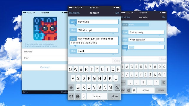 Cryptocat Creates Private, Encrypted Chatrooms on the iPhone