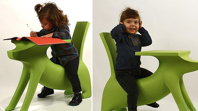 Starck's Dog Desk Will Actually Help Kids Do Their Homework