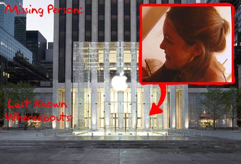 Missing NYC Teacher Shows Upp At Apple Store
