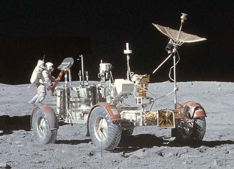 The Lunar Rover: Hoons on the Moon!