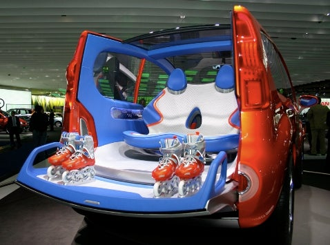 Frankfurt Auto Show: Renault Kangoo Concept