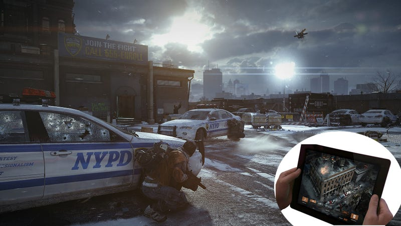 The Division's Most Interesting Idea Is Happening On An iPad