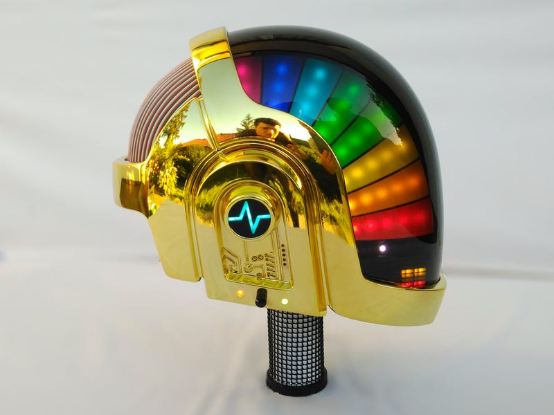 Look at This Magnificent Daft Punk Helmet Replica