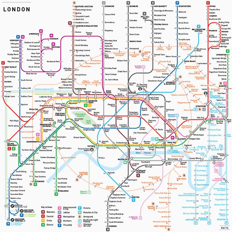 What If Every Single Subway Map Was Designed By the Same Person?