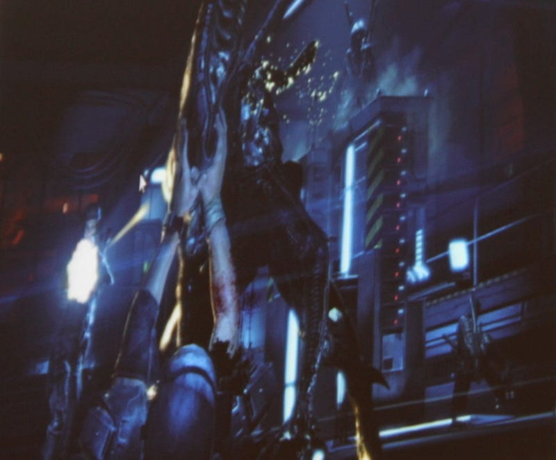 A Brief, Surprise Glimpse At Aliens Colonial Marines