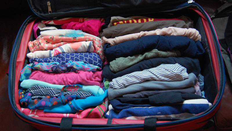 Best Way To Pack Suitcase To Save Room