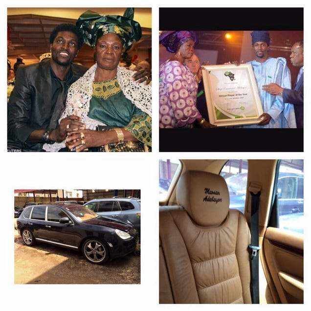 Emmanuel Adebayor Accuses His Family Of Using Him For His Money