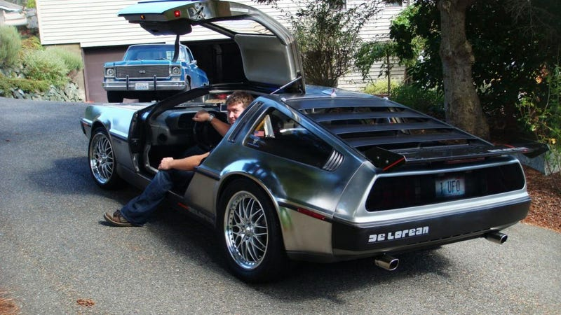 Mirror-Polished Delorean