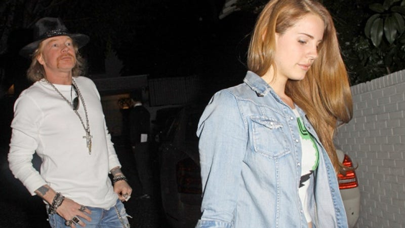 Lana Del Rey Is Dating Axl Rose? And a List of Other Middle-Aged Musicians She Should Consider