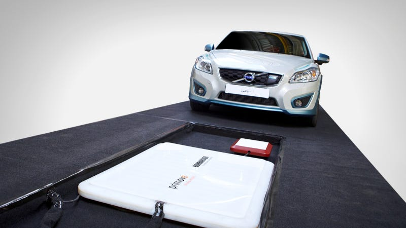 Volvo Attempts Wireless Charging Of Electric Cars