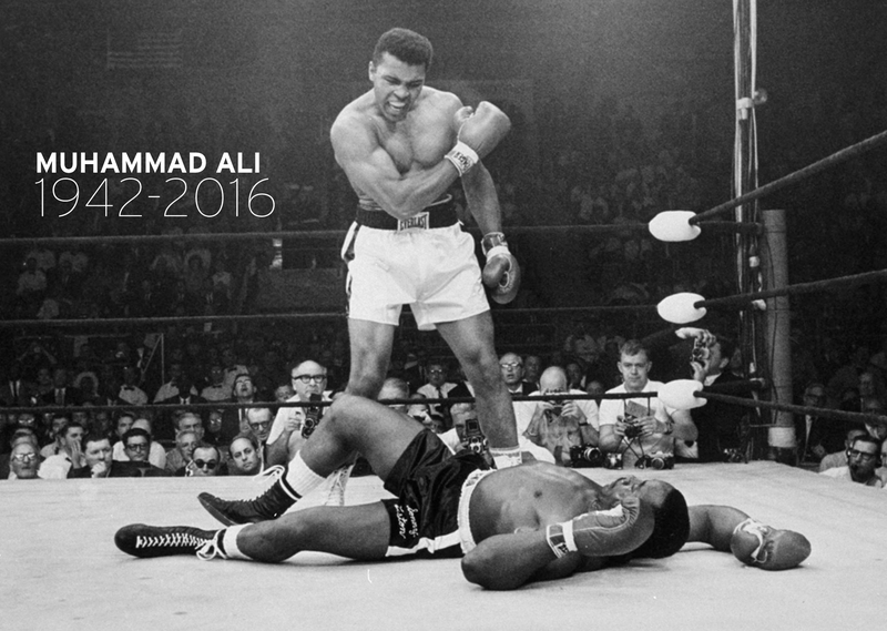 Muhammad Ali, The Greatest of All Time, Has Died