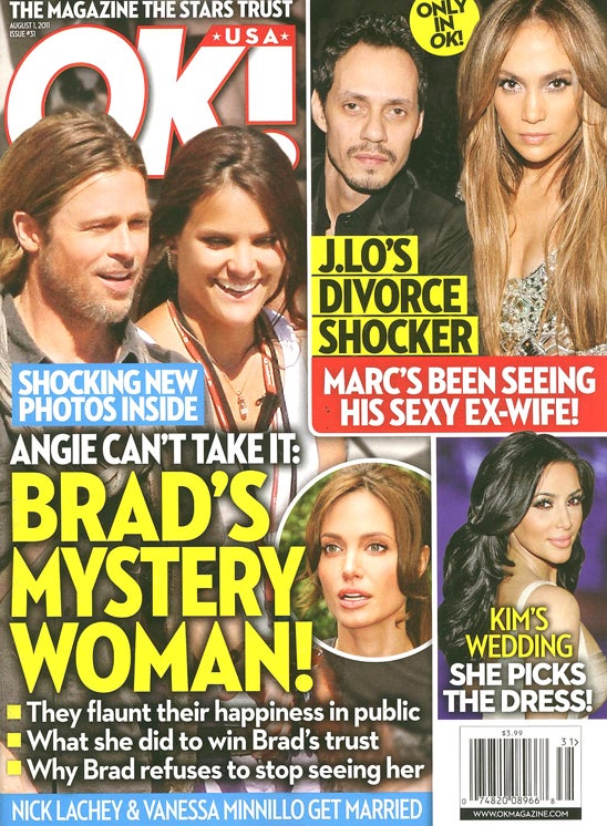 This Week In Tabloids: Jealousy, Flight Attendant, Model Trains Came Between JLo & Marc