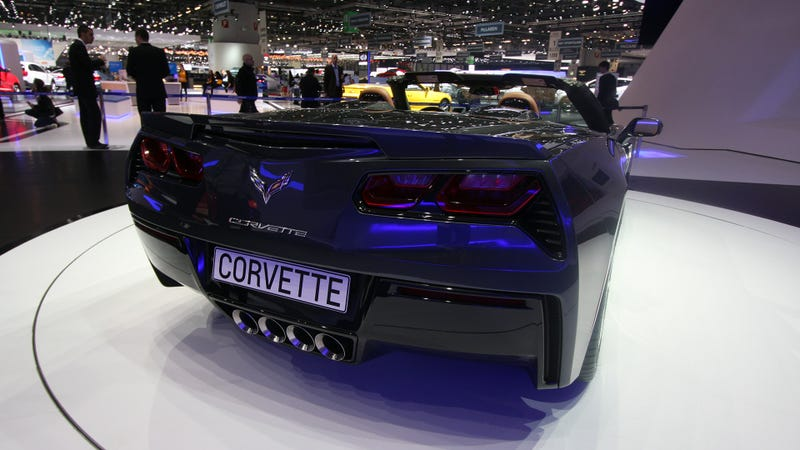 The Corvette Stingray Convertible Can Be Used As A Picnic Table
