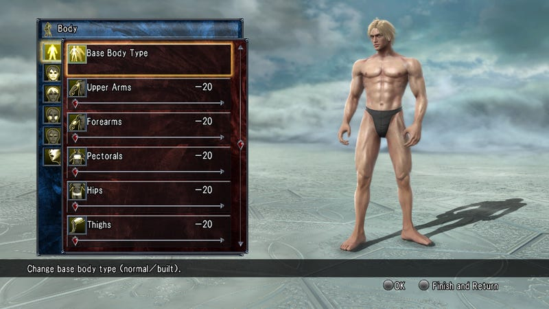 Character Creation Is Back and Better Than Ever in Soulcalibur V