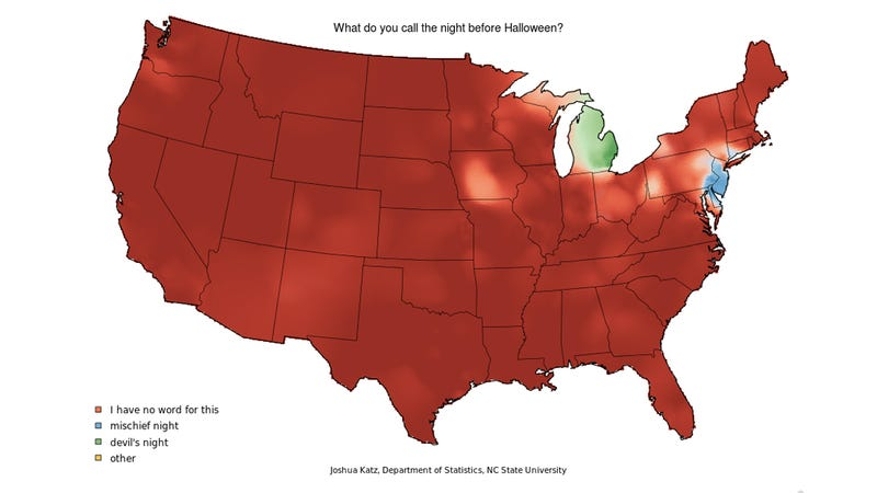 These Eight Maps Prove That Everyone in the U.S. Speaks Funny But You