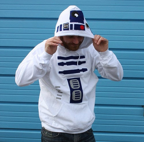 R2-D2 Hoodie: Look Like a Short, Stout Droid