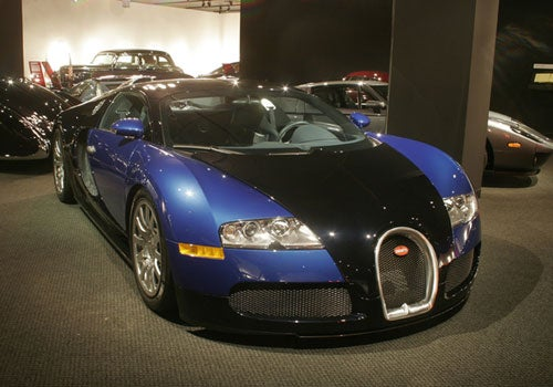 UPDATE: Petersen Museum Loaned Bugatti Veyron To Conan