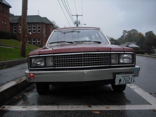 1978 Ford Fairmont Station Wagon Down On The New Hampshire Street
