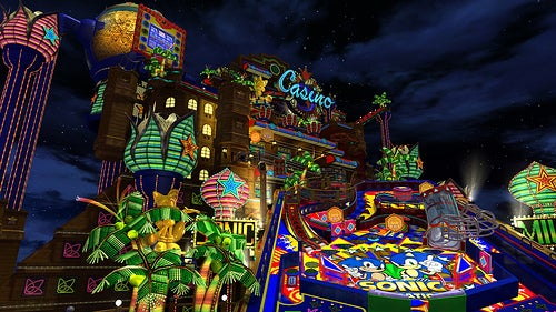 Sonic's Casino Night Pinball Comes to PC on Dec. 26