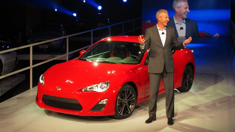 Scion FR-S: First live photos and details