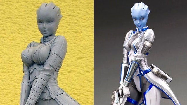 BioWare Gives Mass Effect Statue a Breast Reduction