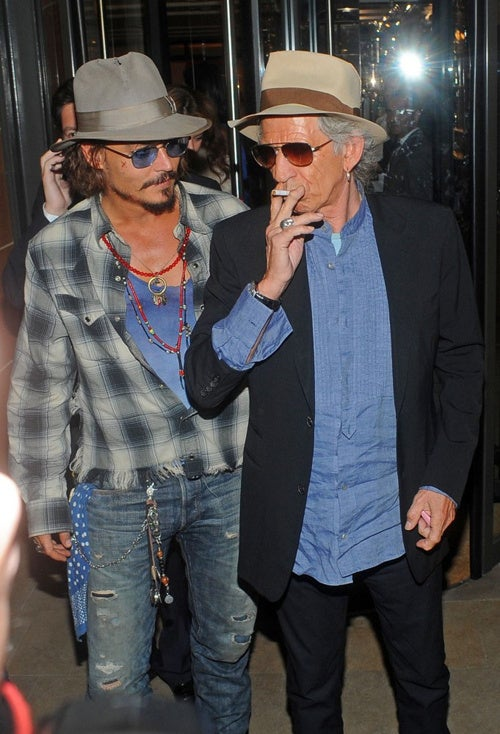 Johnny Depp & Keith Richards Are About To Have A Night They'll Never Forget Remember