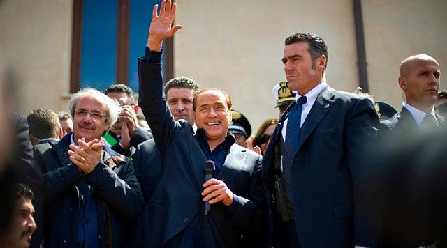 Berlusconi Thinks 30% of Italian Women Want His Body