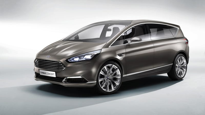 The Ford S-Max Concept Was Inspired By A Furniture Show