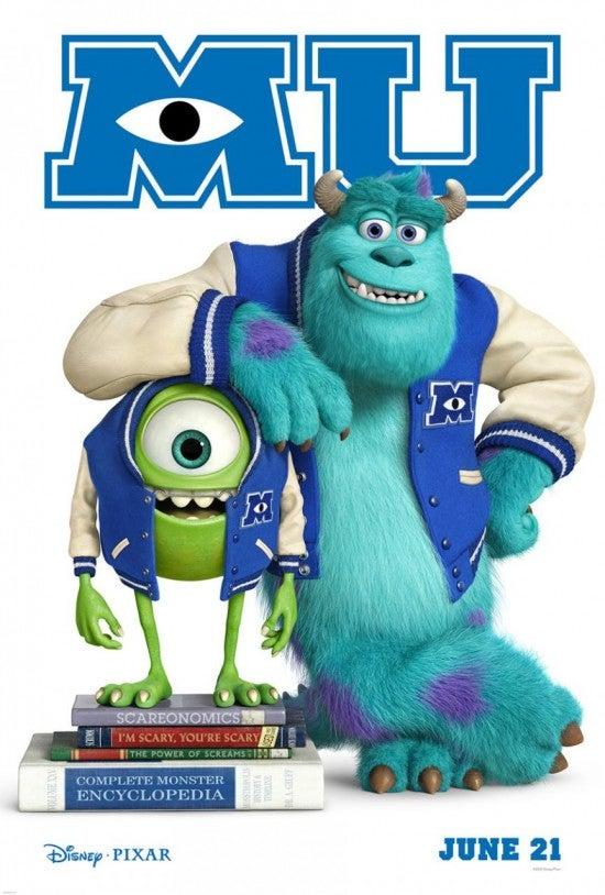 Monster University Posters