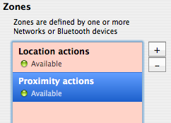 Automate proximity and location-based computer actions