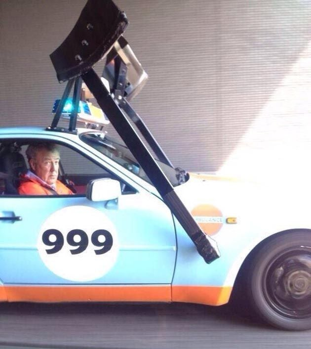 Clarkson, what are you doing in that 944?