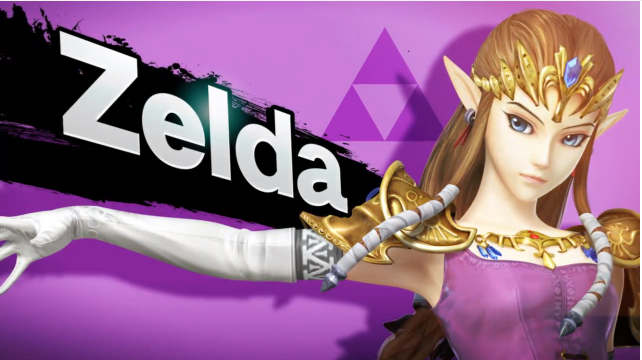 Zelda and Sheik Will Be Separate Characters In The New Smash Bros