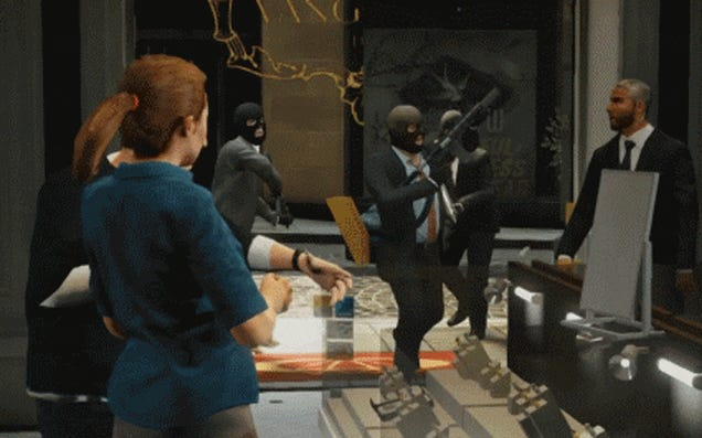The GTA V Hype Train Destroys Other Games With Animated GIFs