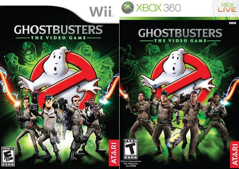 Ghostbusters Game Upfront About Its Differing Art Styles