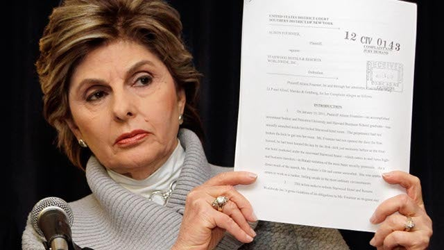 Gloria Allred Sued by Travolta Masseurs' Original Attorney