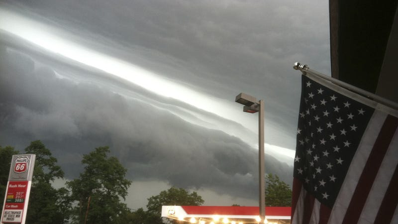 What the Terrifying Storm About to Hit New York Looks Like