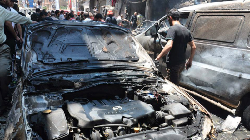 Car Bomb in Syria Kills 37, Wounds 50