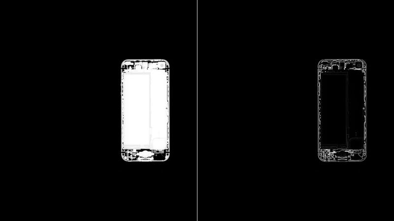 X-Ray Image Shows the iPhone 5 Totally Buck Naked