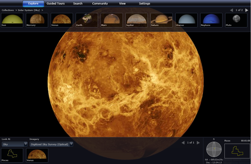 WorldWide Telescope Puts the Night Sky in Your Browser