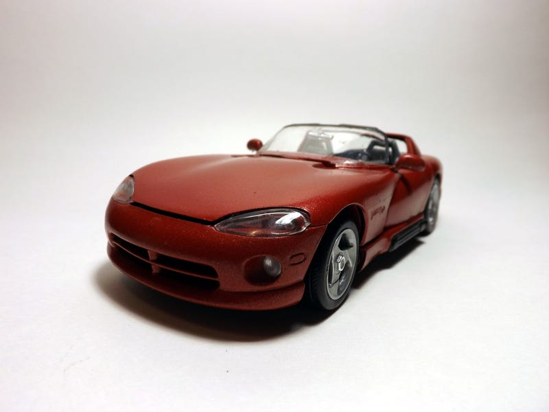 I, too, tried my hand at model car photography