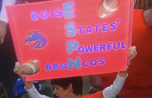 Boise State Calls Mississippi State's Misspelling And Raises Em A Misplaced Apostrophe