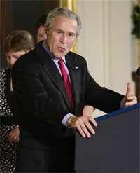 President Bush Still Controls Our Ovaries