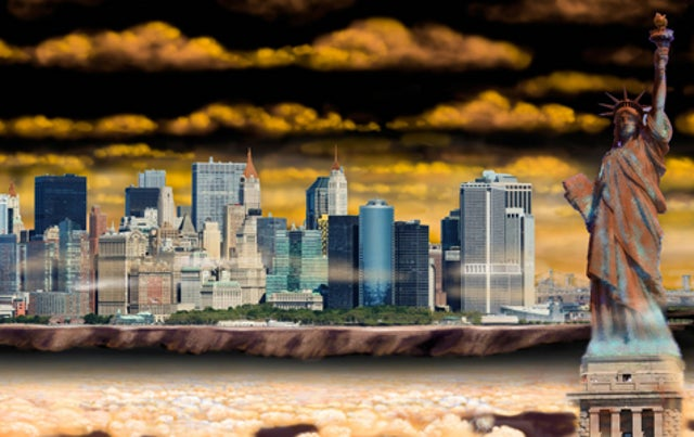 What if New York City was transported to another planet?