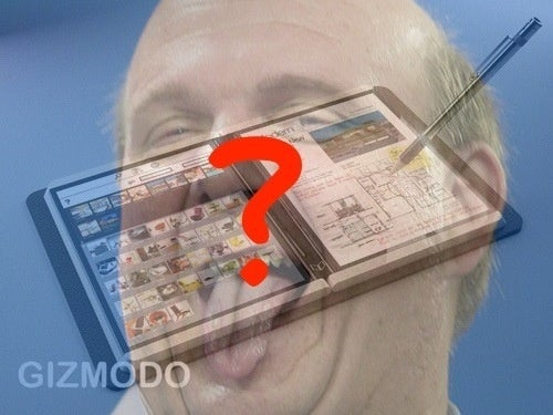 Rumor: Steve Ballmer to Unveil HP's E-Reading, Multitouch Tablet Tomorrow