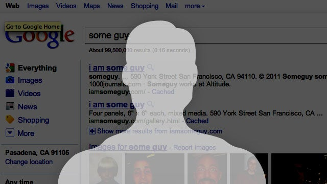 Google Adds Ego Search Tools to Your Dashboard